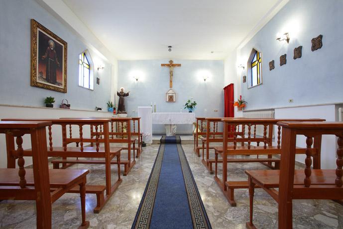 Chiesa interna alla Casa di Cura